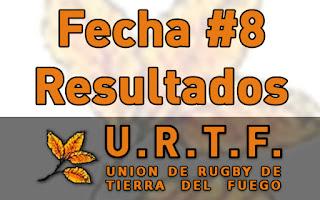 [URTF] Resultados Fecha #8 - Torneo Inicial 2016