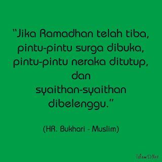 Mengerjakan puasa di bulan Ramadhan merupakan perintah Allah yang dasarnya sudah jelas ad Keutamaan Puasa di Bulan Ramadhan Menurut Hadist