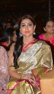Actress Shriya Saran New Images in Silk Saree at Gautamiputra Satakarni Audio Launch  0029.jpg