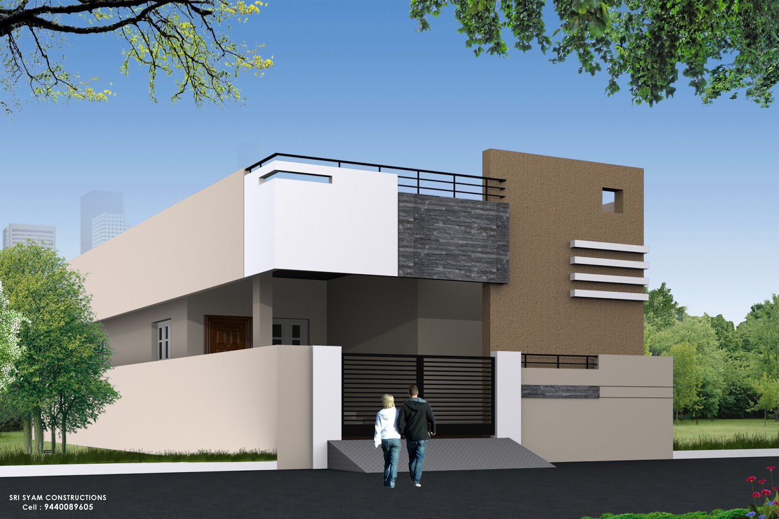 Building Elevation Design Part - 40: This Elevations Are Completed In Site .same As Image We Are Doing So Many  Projects All Type Of Civil Engineering Services. And Interiors.if You Any  One Have ...