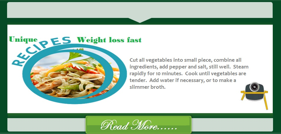 unique-recipe-weight-loss-fast