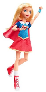 Boneca Fashion DC Super Hero Girls Supergirl Mattel