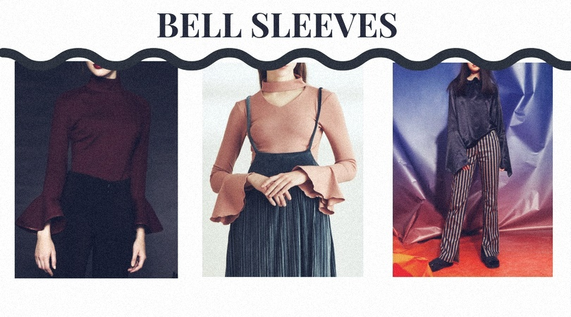 bell sleeves 70s
