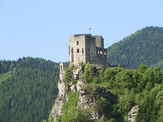Zamek Strečno [foto z 26.05.2012 r.].