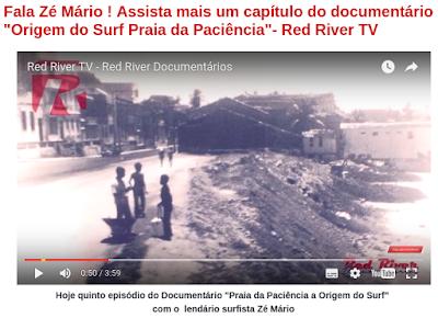 Fala Zé Mário ! Assista mais um capítulo do documentário