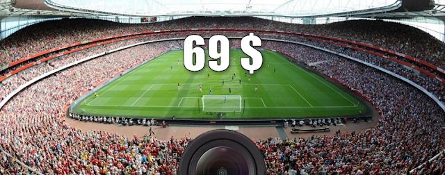 اشتري الكاميرا الرياضية الرهيبة GoPro Hero  بسعر 69 دولار فقط