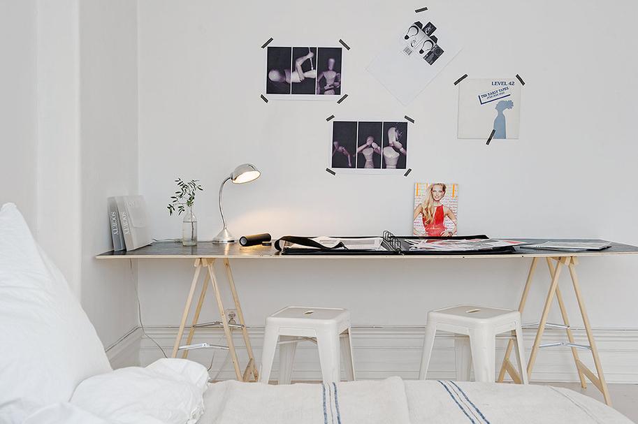 by c design deco inspiration un bureau plein de charme. Black Bedroom Furniture Sets. Home Design Ideas