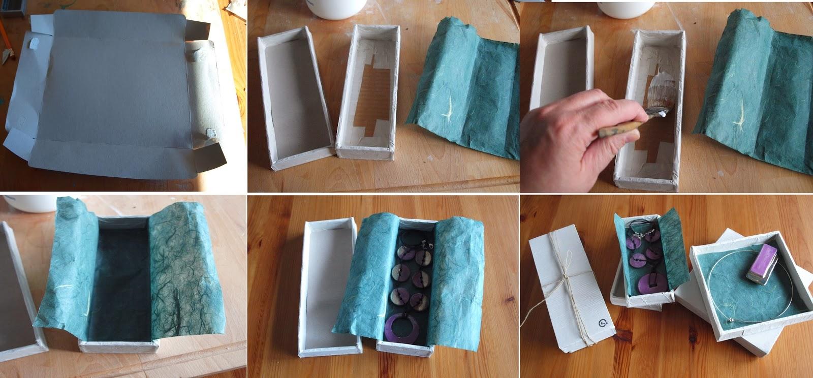 Eccezionale Simosì e il suo laboratorio: Scatole di cartone fai da te.. XS09