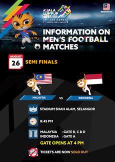 Siaran Langsung Malaysia Vs Indonesia 26 Ogos 2017