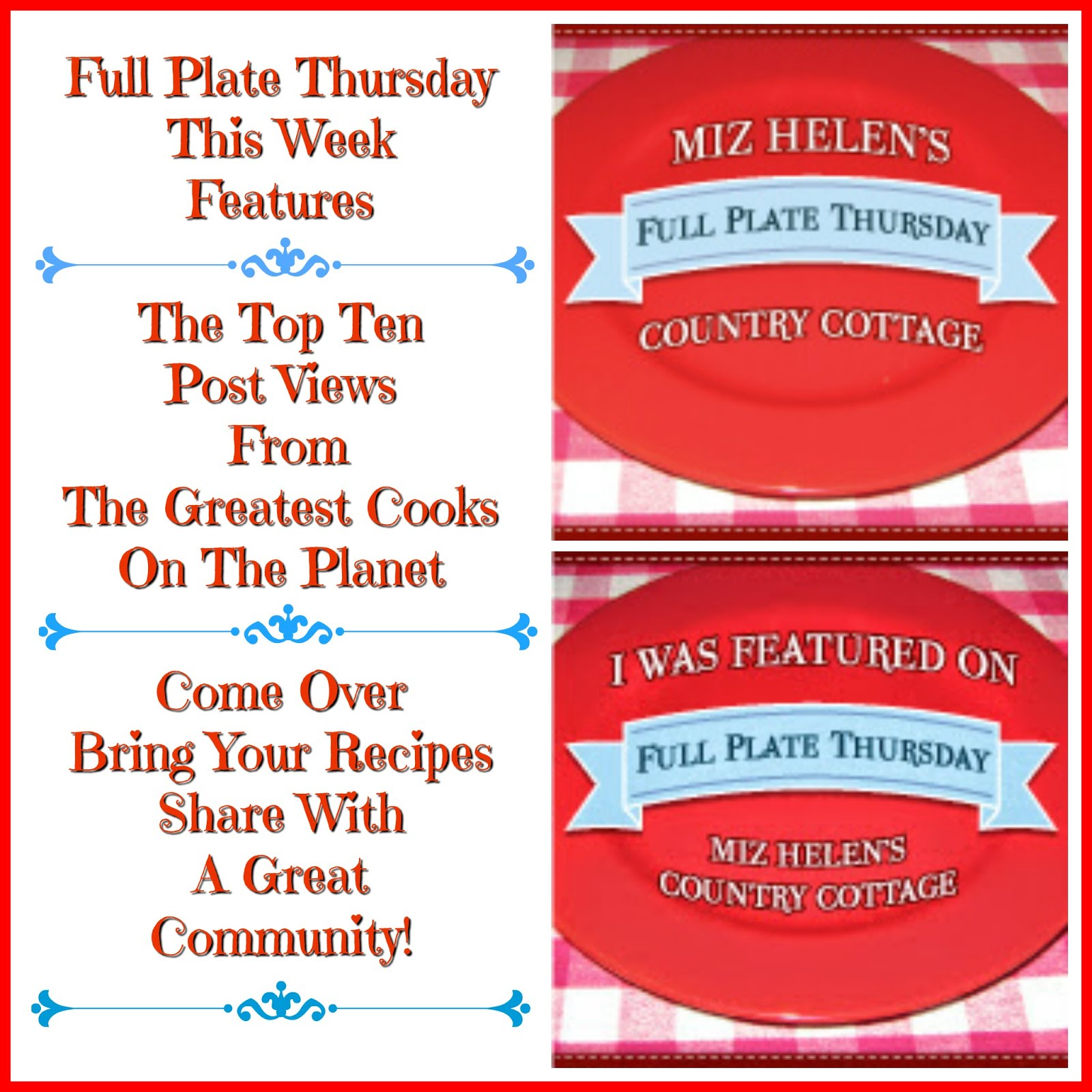 Full Plate Thursday, 526