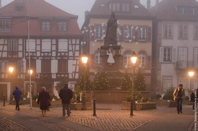 Ribeauville Alsacia Navidad viaje