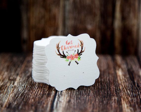 Custom Earring Display Cards