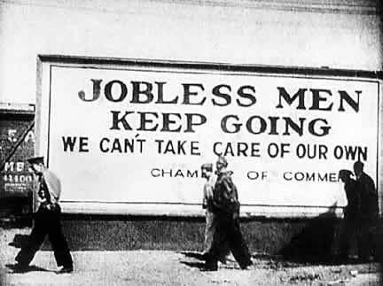 We Only Want The Earth A Comparison Between The Great Depression - The-great-depression-1929