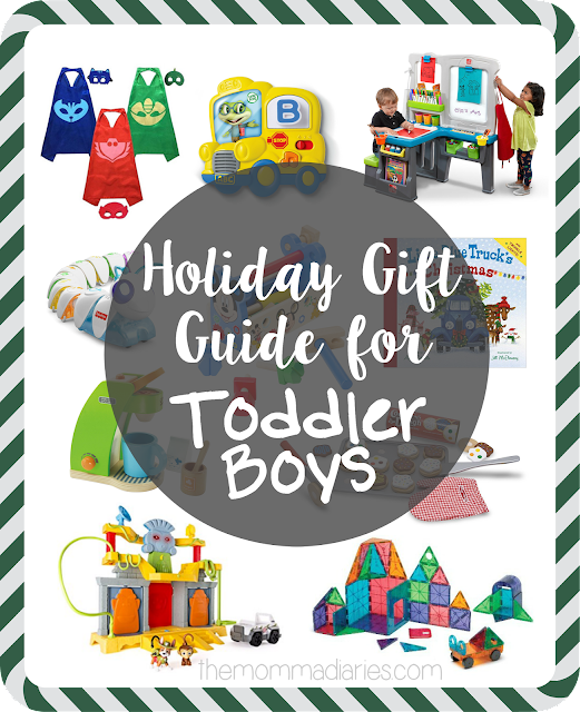 Holiday Gift Guide for Toddler Boys, Gift Guide for Toddlers