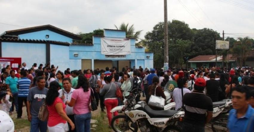 750 estudiantes rindieron evaluación para ingreso al COAR San Martín - I Fase - DRE San Martín - www.dresanmartin.gob.pe