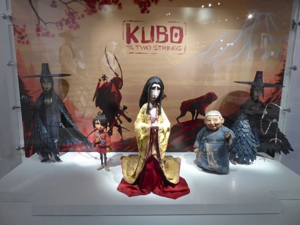 Kubo Two Strings stop-motion animation puppets
