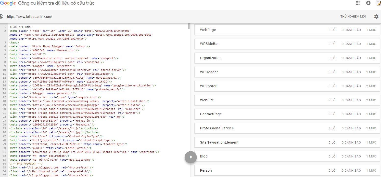 Cách triển khai Schema vào từng trang trong Website