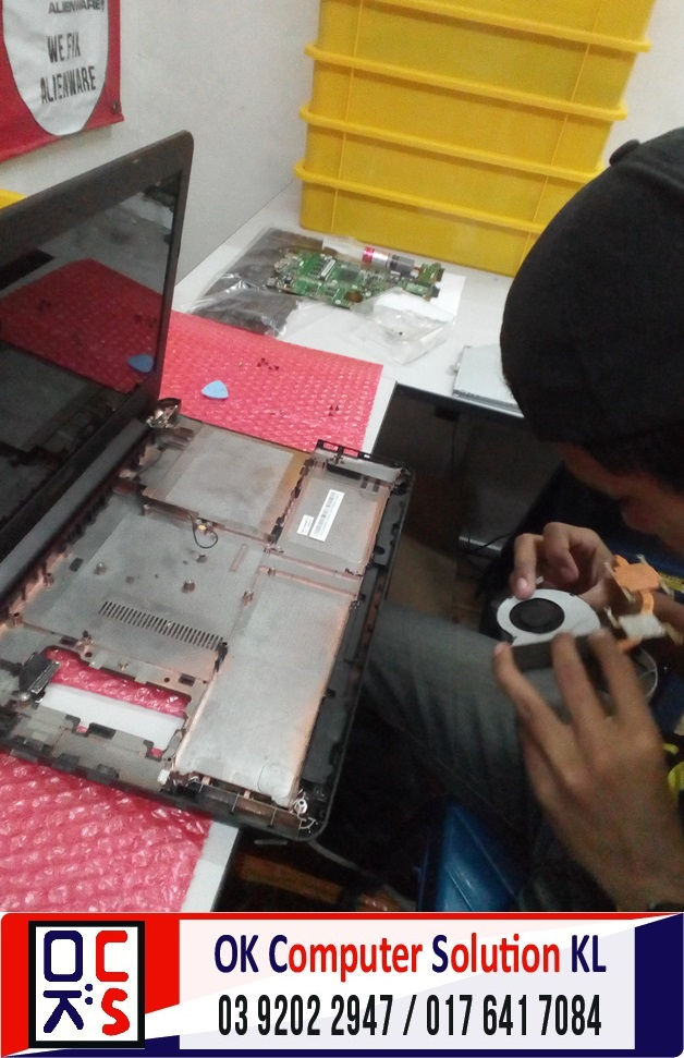 [SOLVED] TUKAR KEYBOARD ASUS X454L | REPAIR LAPTOP CHERAS 2