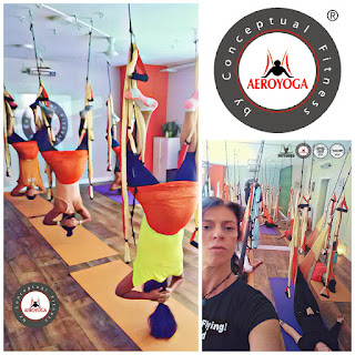 aeroyoga, yoga aereo, aerial yoga, air yoga, yoga, pilates, fitness, aero, fly, flying, teacher training, columpio, trapeze, swing, formacion, certificacion
