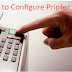 How to Configure Printer Port