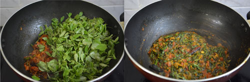 Methi Dal Fry with Fresh Methi-Fenugreek Leaves