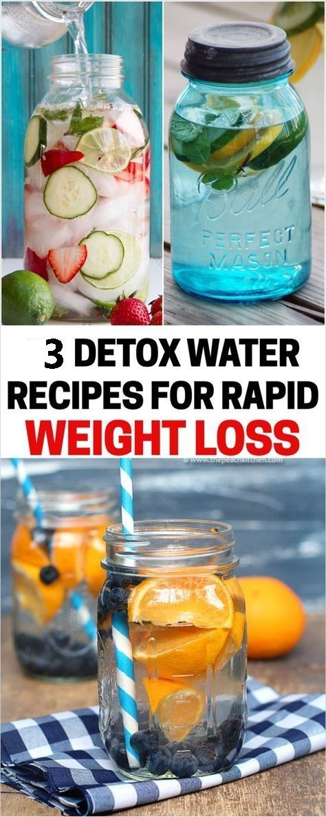 Detox Water Recipes For Rapid Weight Loss