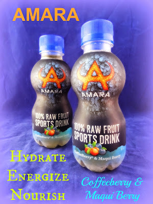 AMARA Raw Fruit Sports Drink with Coffeeberry and Maqui Berry