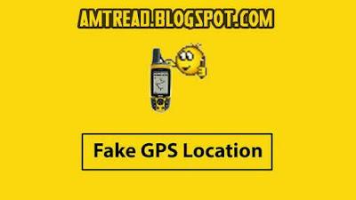 cara memalsukan lokasi gps di android
