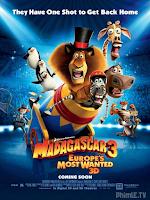 Madagasca 3: Thần Tượng Châu Âu