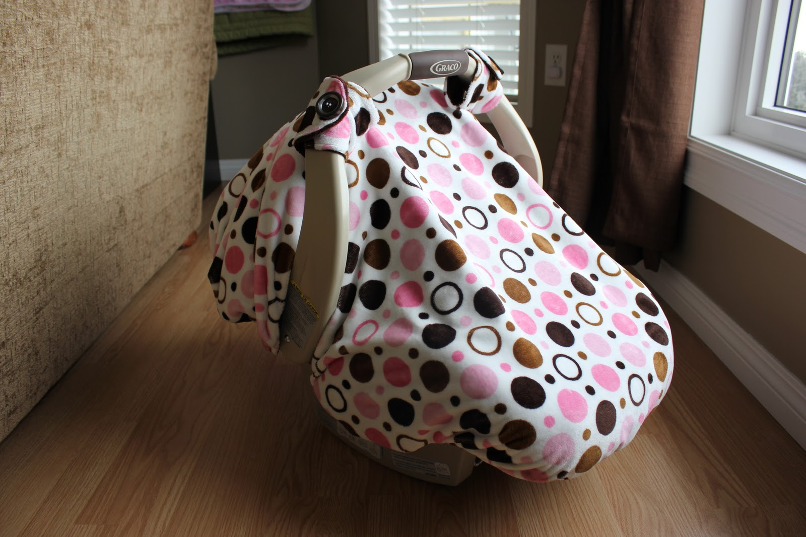 Did I Make That Warm Winter Carseat Cover