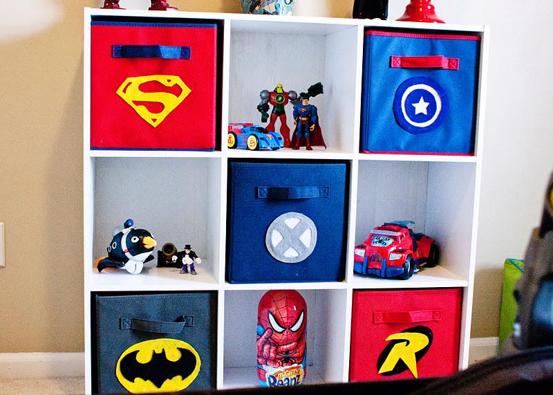 head above water: Super Hero playroom