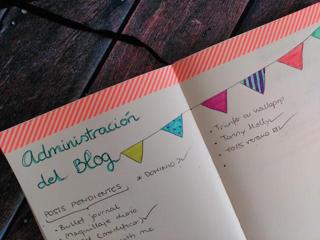 administración del blog