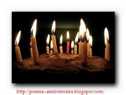 Poème joyeux anniversaire!
