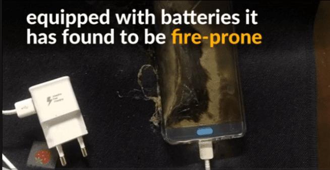 Akibat Baterai Rawan Kebakaran Galaxy Note7 Ditarik