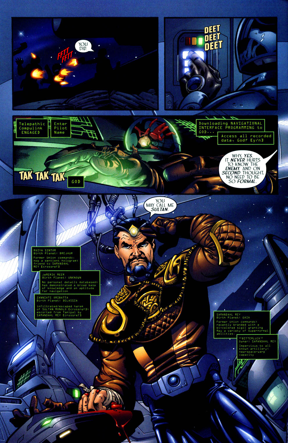 Read online Sigil (2000) comic -  Issue #12 - 8