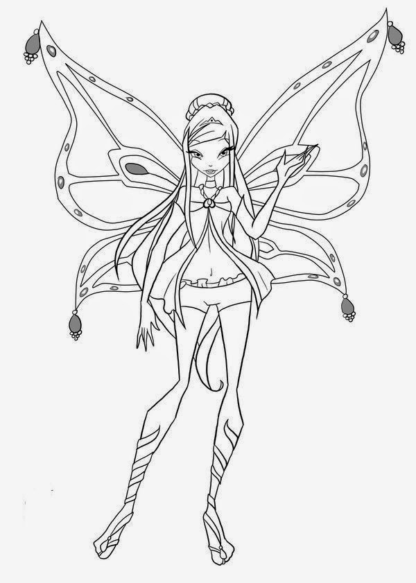 winx club christmas coloring pages | Free Coloring Activity With Winx Club Coloring Pages | New ...