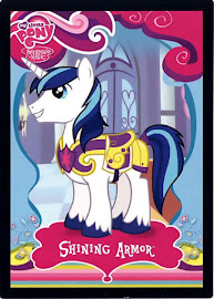 My Little Pony Shining Armor Series 1 Trading Card