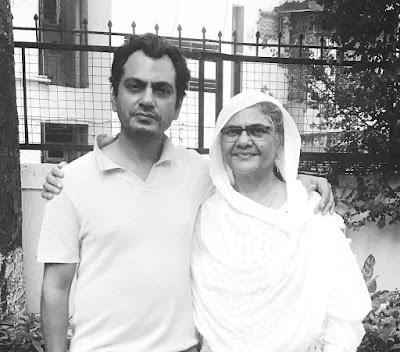 Nawazuddin Siddiqui with mother