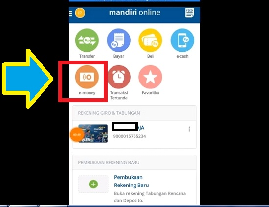 Cara Isi Ulang E-Toll Card Mandiri 2