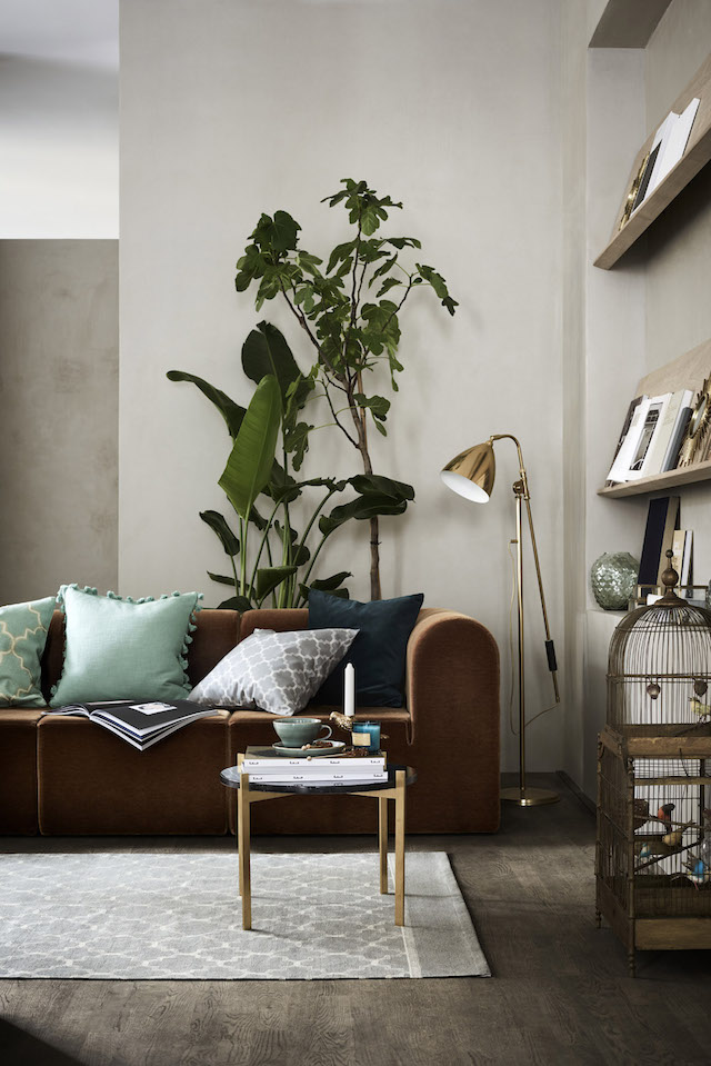 A Swedish Dwelling Inward Greige (With Only About Fab Pieces)