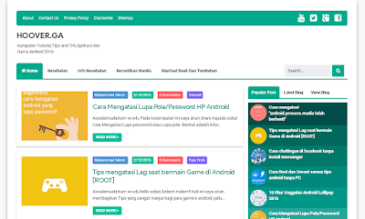 Redesign Template Premium Evo Magz Karya Mas Sugeng