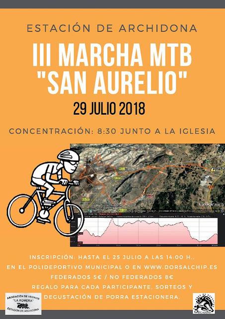 III Marcha MTB San Aurelio de Archidona