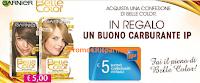 Logo Belle Color ti regala buoni carburante da 5 euro