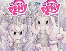 My Little Pony Micro Series #10 Comic Cover Double Variant