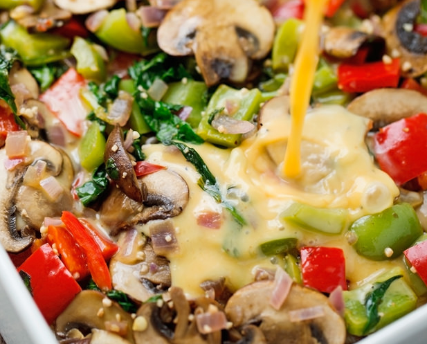 Veggie Loaded Breakfast Casserole Recipe