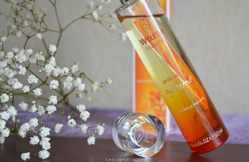 weleda citrus perfume jardin de vie agrume
