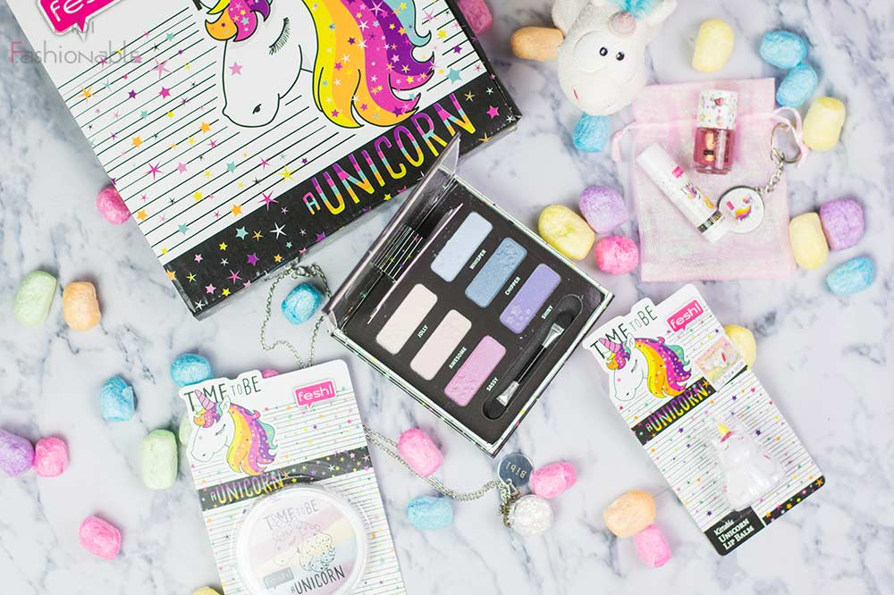 Fresh Time to be a Unicorn Flatlay