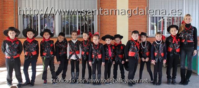 Disfraz escolar cantaor flamenco