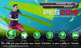 [Update] PES 2016 Patch By JPP v4 ISO Android