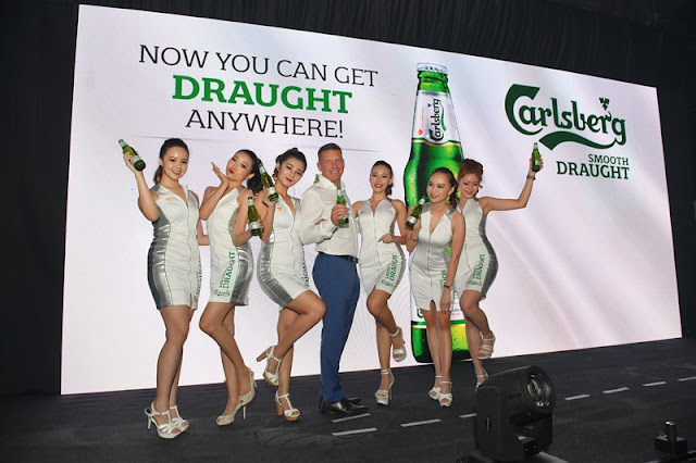 Carlsberg Smooth Draught in Pint Bottle - Smoothest Carlsberg Draught Beer